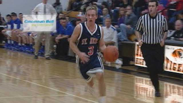 Best's steal and finish voted Cincinnati Bell Fastest Play for Jan. 18