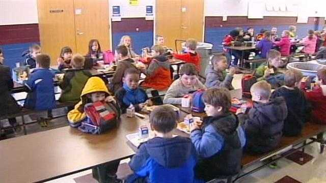An area school district hopes to share uneaten cafeteria food.
