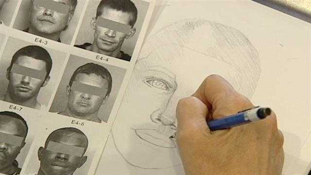 What goes in to creating a police sketch?