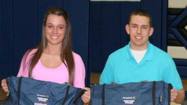 McDonald's Student Athletes of the Week for Feb. 15