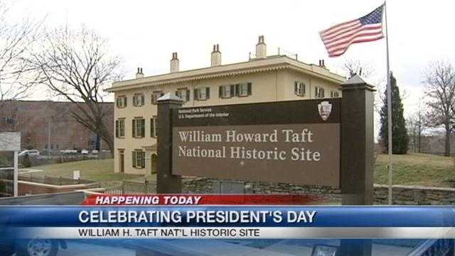 Taft House offers educational options for Presidents' Day