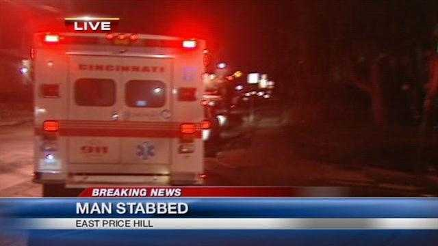 Man stabbed in East Price Hill, police investigating