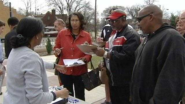Group gathers signatures to put parking issue before voters