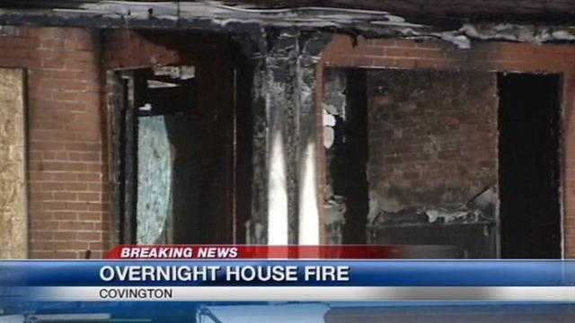 Authorities confirm woman died in overnight Covington fire