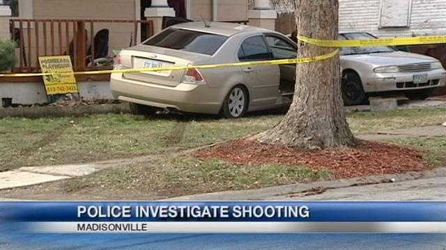 Police are looking for the person who shot a man in Madisonville Saturday afternoon.
