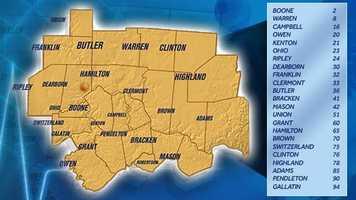 Full county health rankings