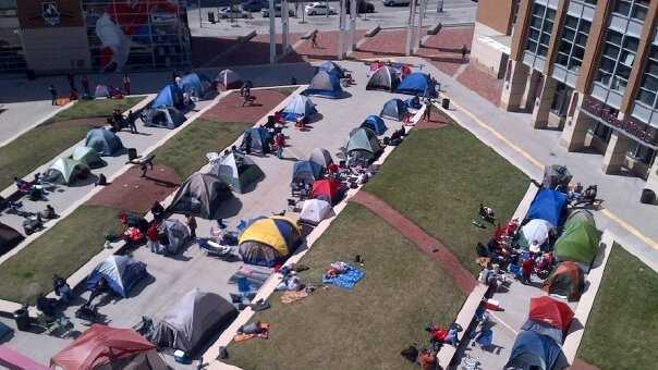 Opening Day campout