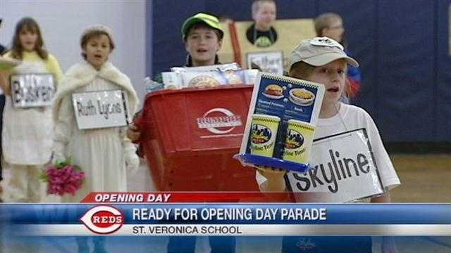 St Veronica school opening day