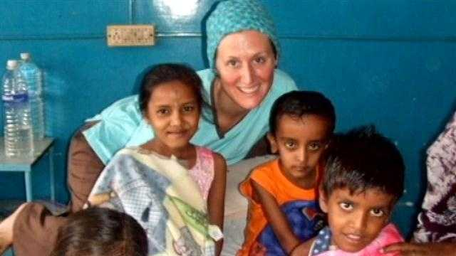 One nurse takes pride in helping children both in Cincinnati and around the world.