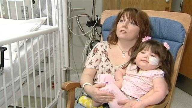 Child survives grave heart issues