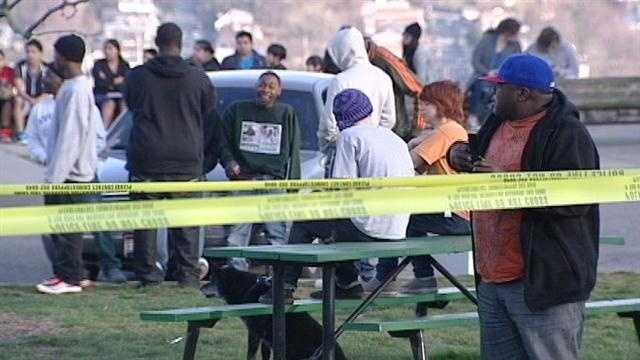 Victim stable after being shot near Easter egg hunt at Eden Park