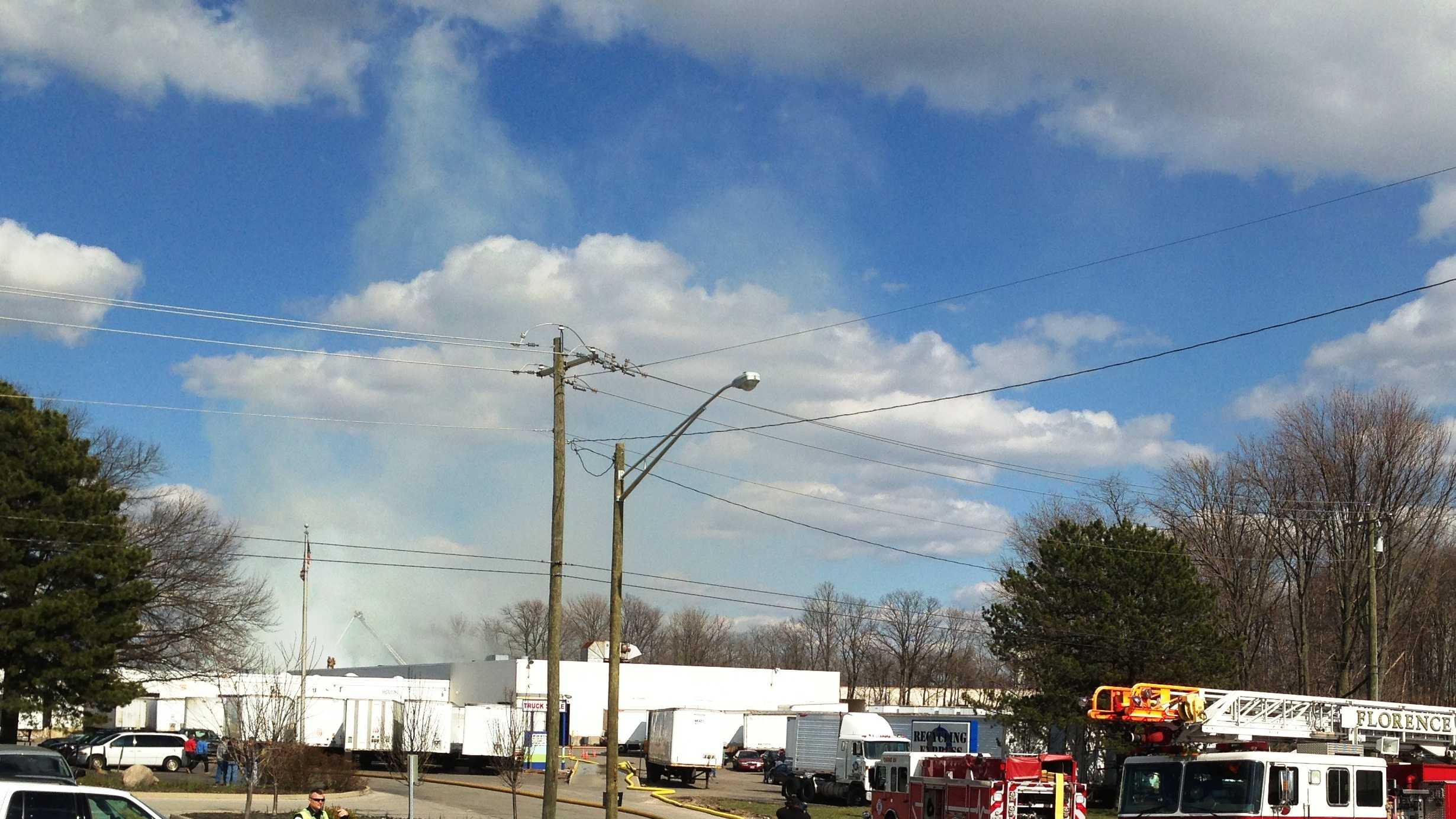 Florence structure fire