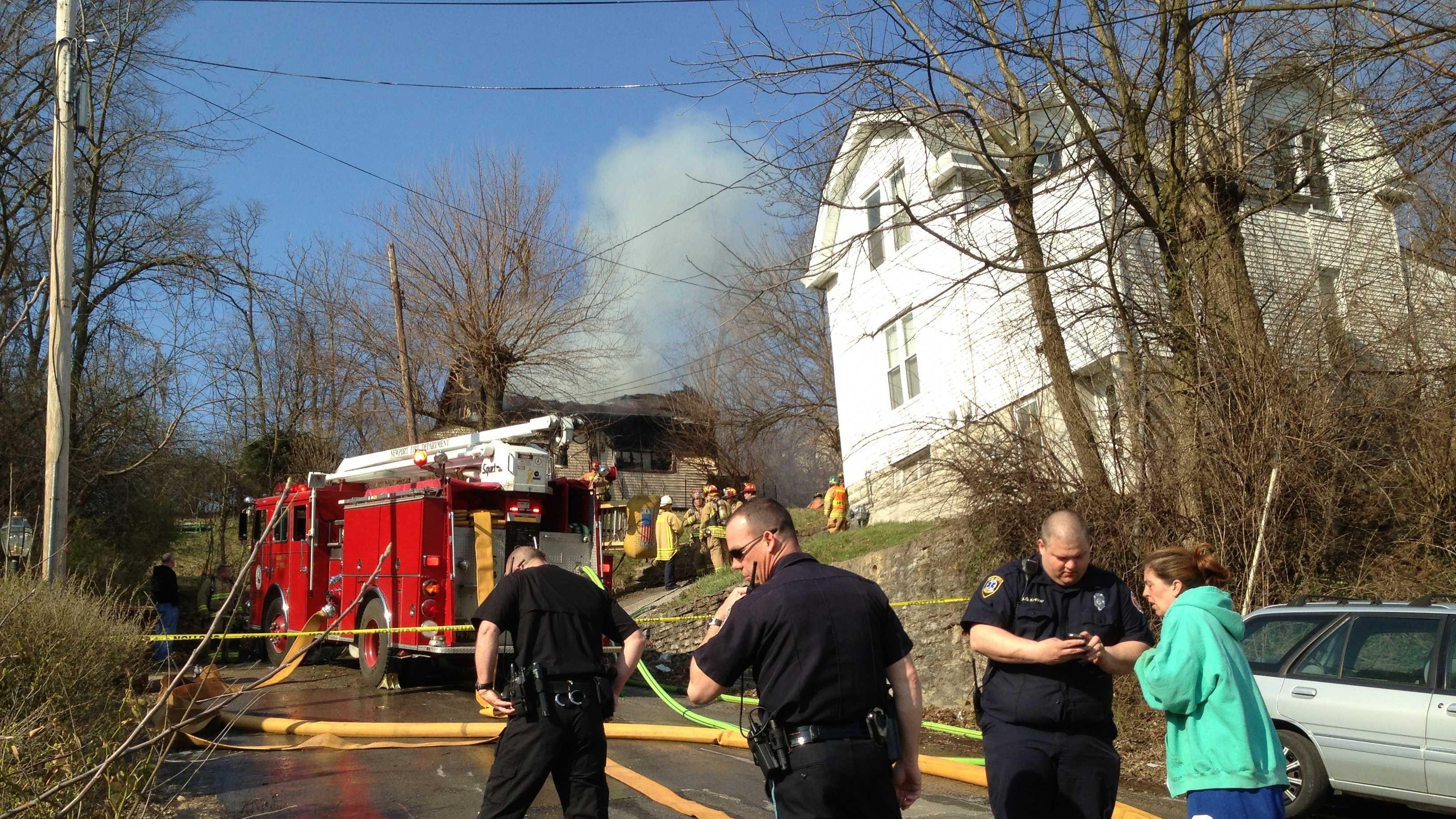Newport fire 040613