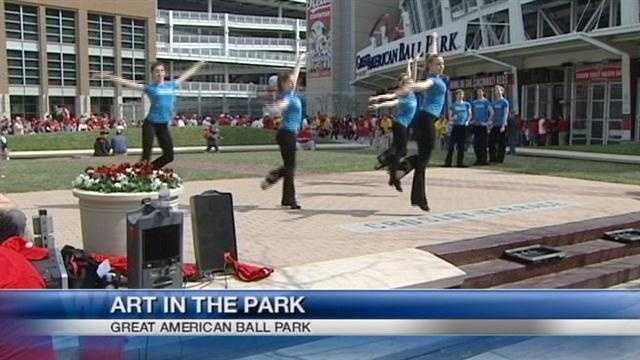 ArtsWave gives Reds fans taste of Cincinnati's arts scene