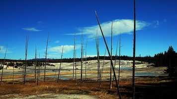 4. Yellowstone National Park, Wyoming, Montana, IdahoVisitors in 2012: 3,447,729