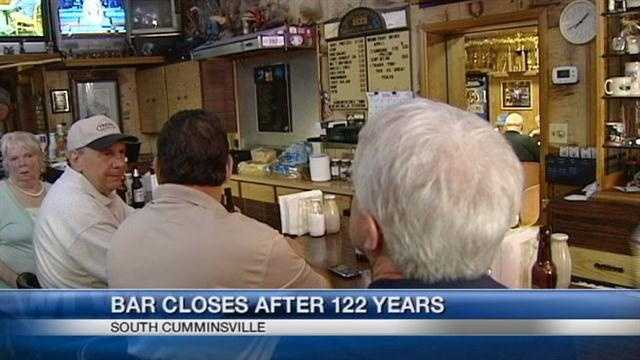 Bar closes after 122 years