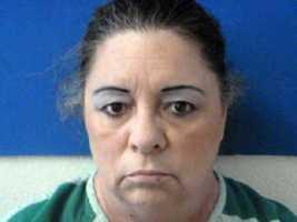 Donna Covert, arrested in a Brown Co. drug investigation.