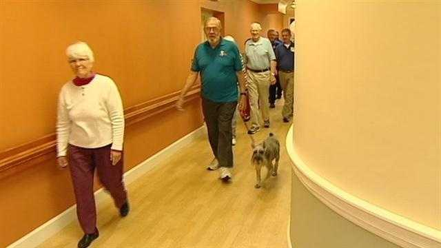 You don't have to run on race day Saturday, to be involved in the pig. One Tri-state retirement community is getting its residents and staff involved in the marathon by doing the pig, piece by piece.