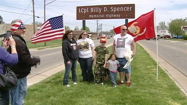 Spencer highway
