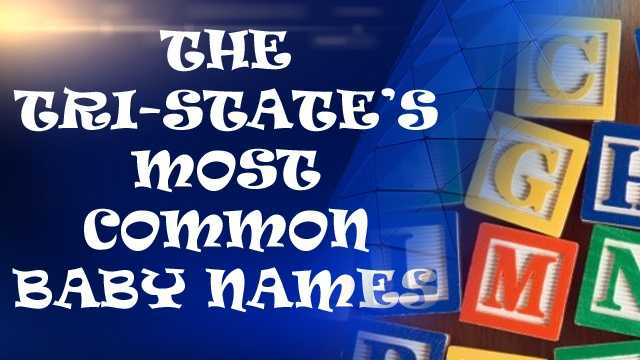 Cover most popular baby names tristate