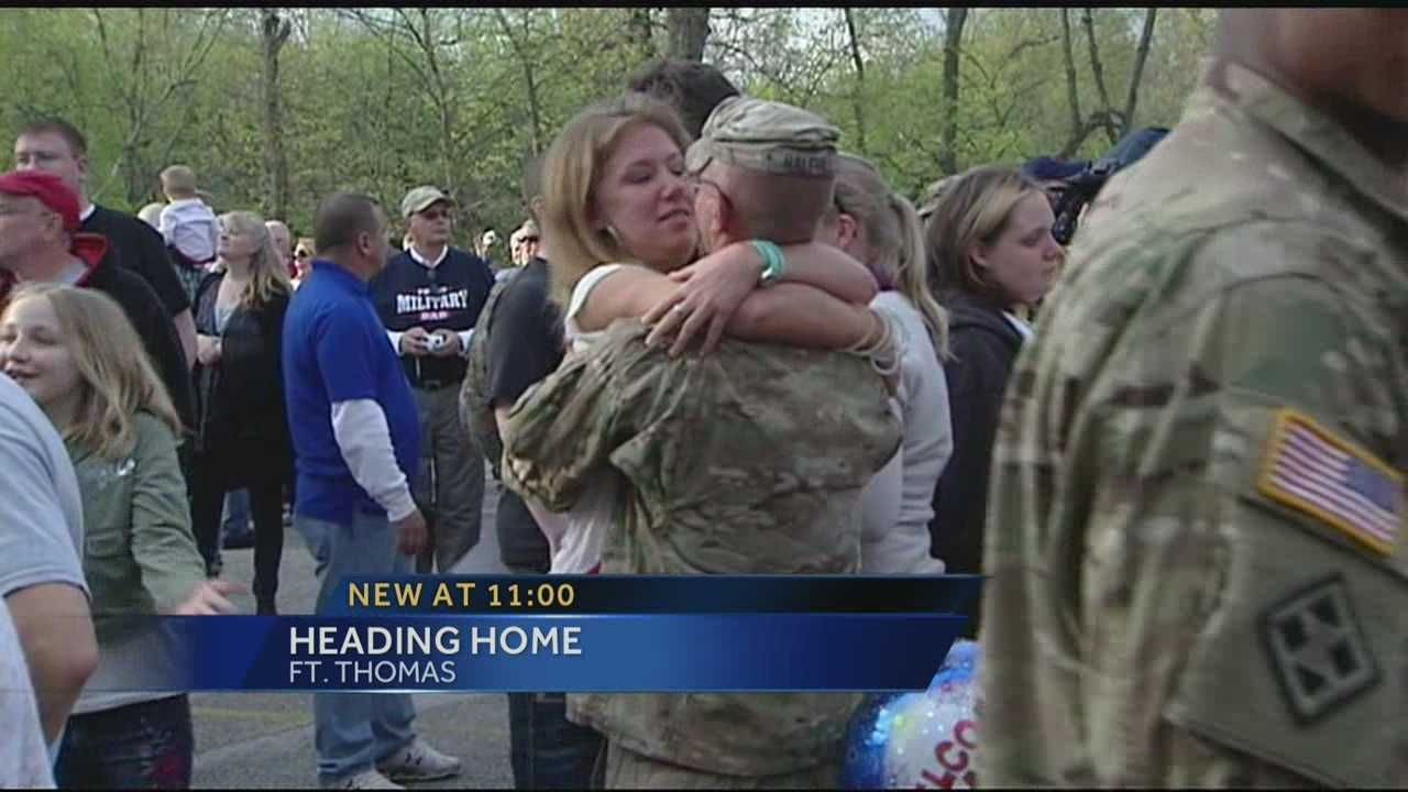 Families, friends welcome troops home from Afghanistan