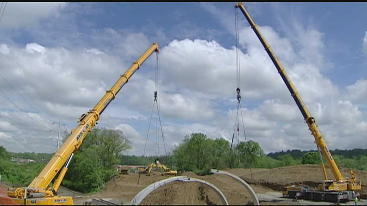 Work under way on Duck Creek connector