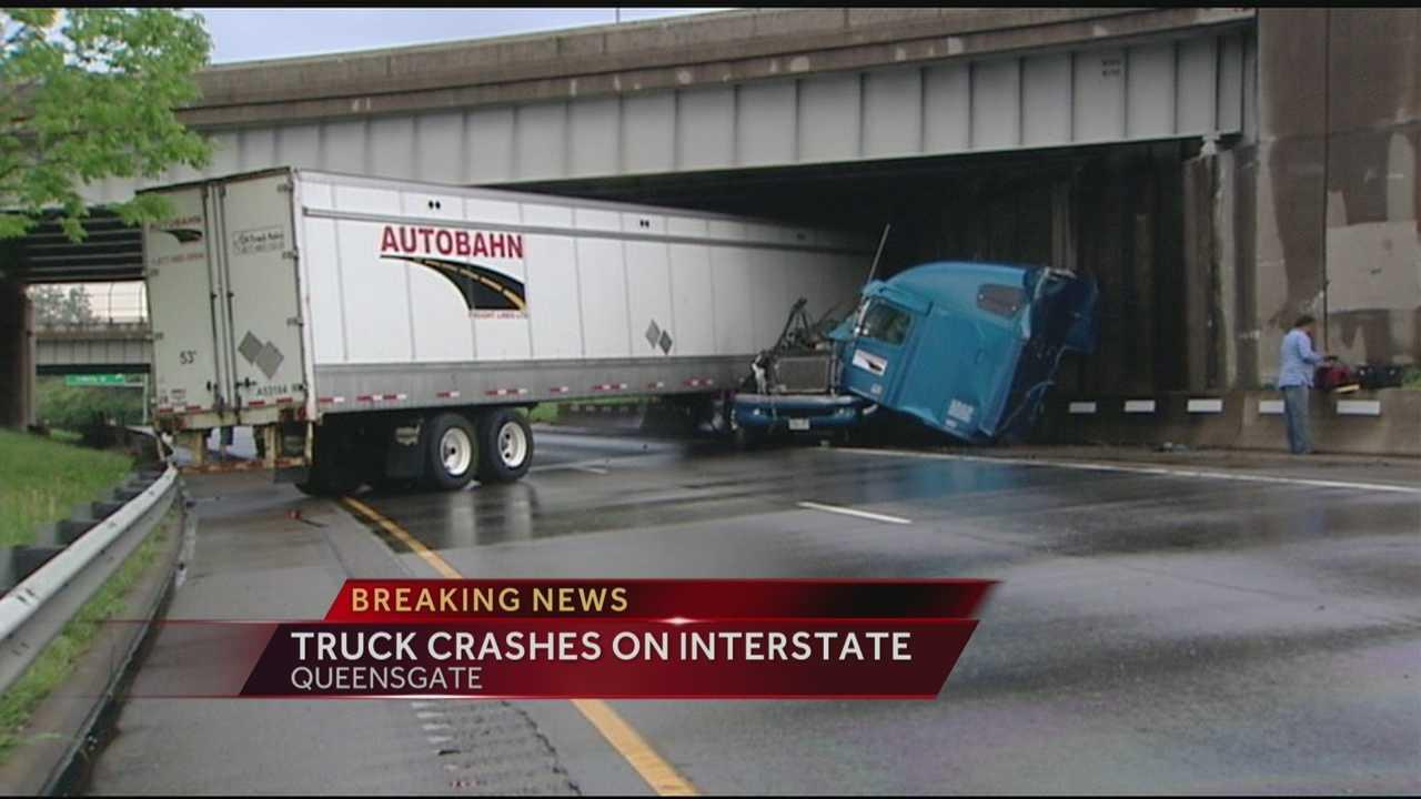 NB I-75 reopens after truck crash