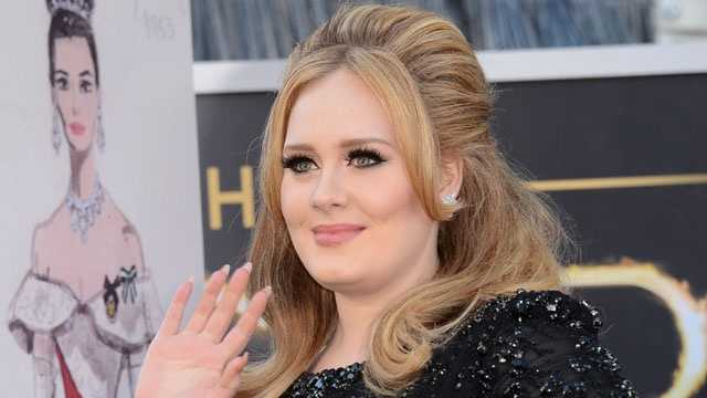 celebrity moms - Adele