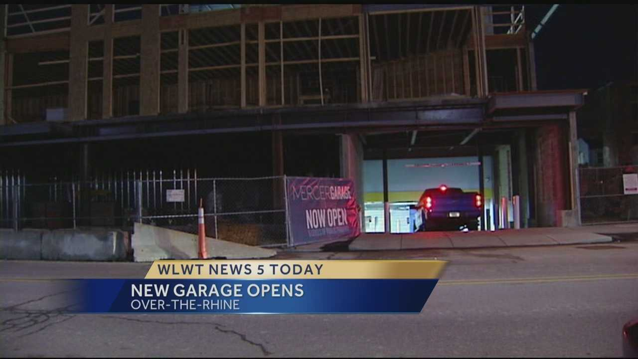 New parking garage opens in Over-the-Rhine