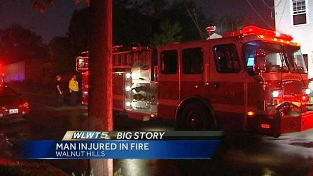 Firefighters rescue man from house fire