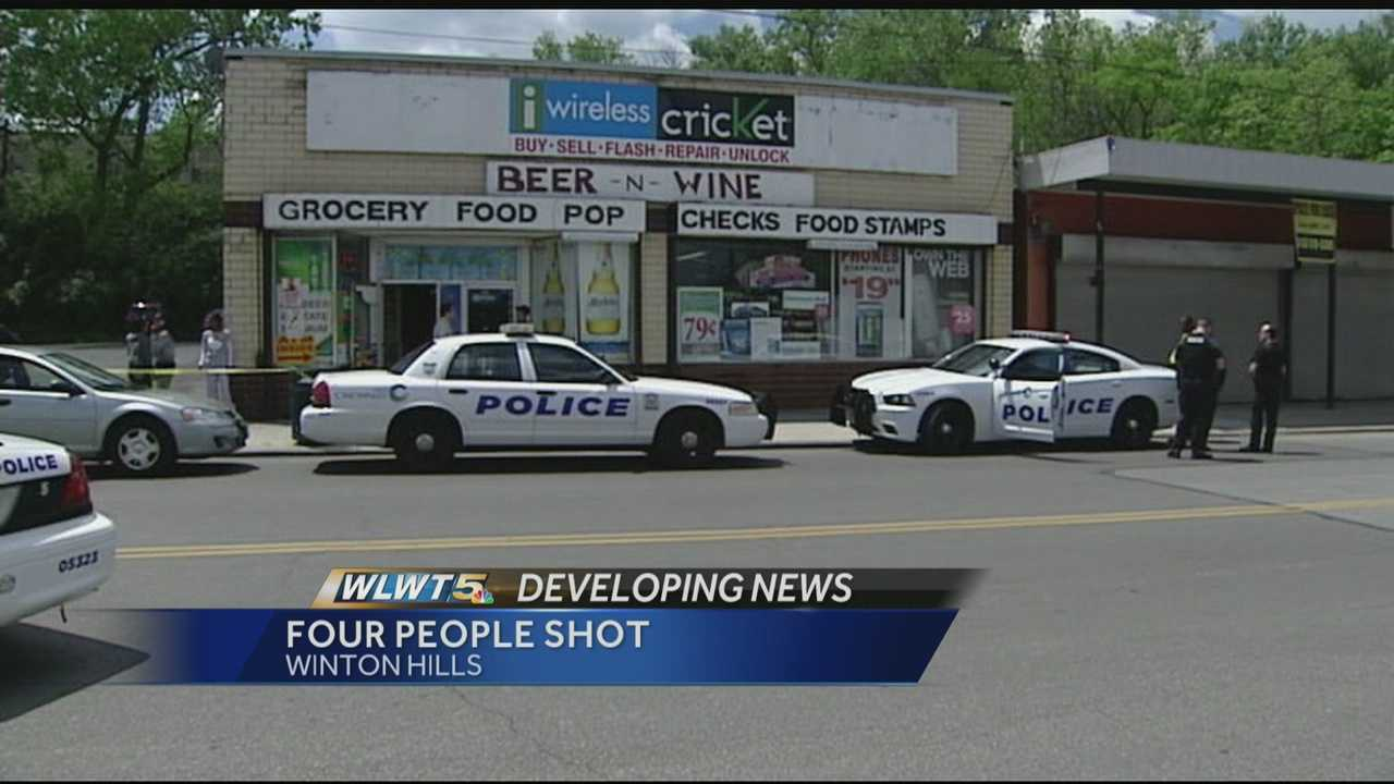 Four wounded in Winton Hills market shooting