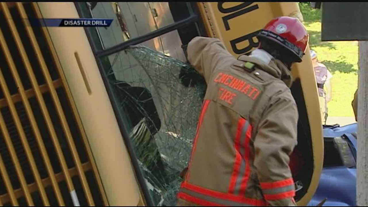 Hamilton County first responders and hospitals took part in the county's mass casualty drill.