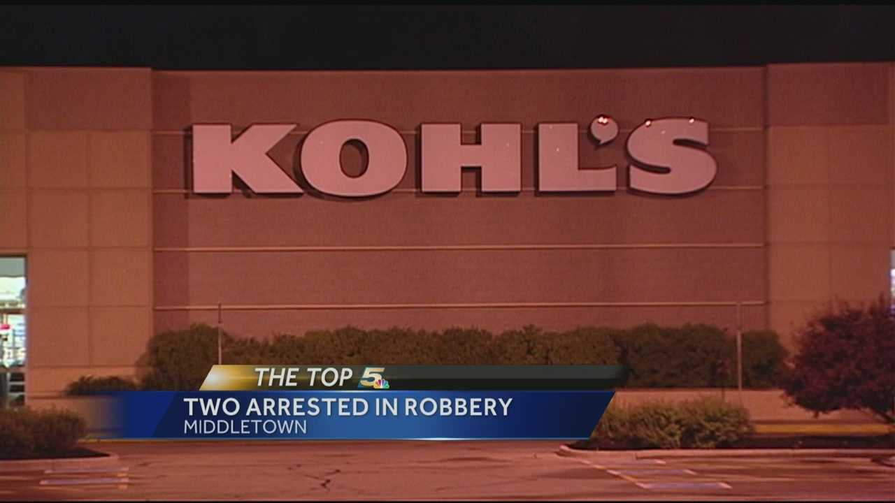 Arrests made in Middletown robbery, hit-and-run incident