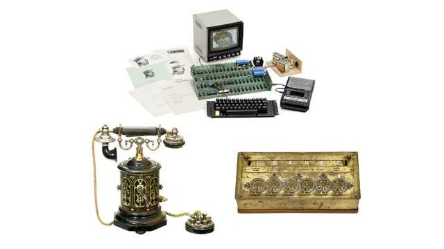 Spectacular 'firsts' up for auction