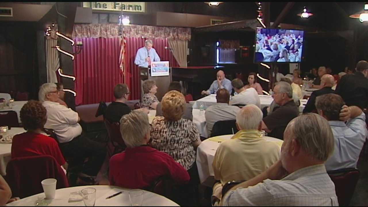 Cincinnati tea partyers are holding a rally against the Internal Revenue Service.
