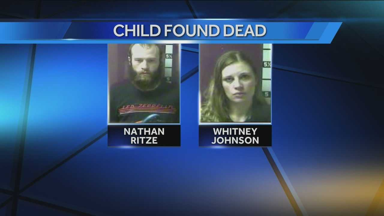 Mother of child, boyfriend charged after child's remains found