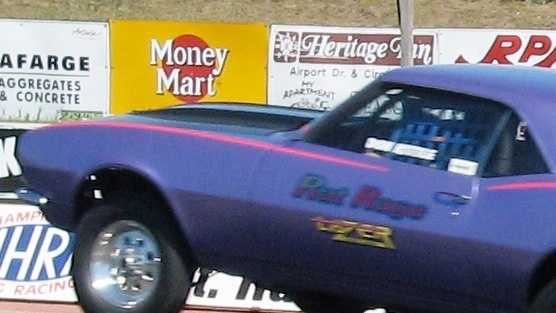 Drag racing racer