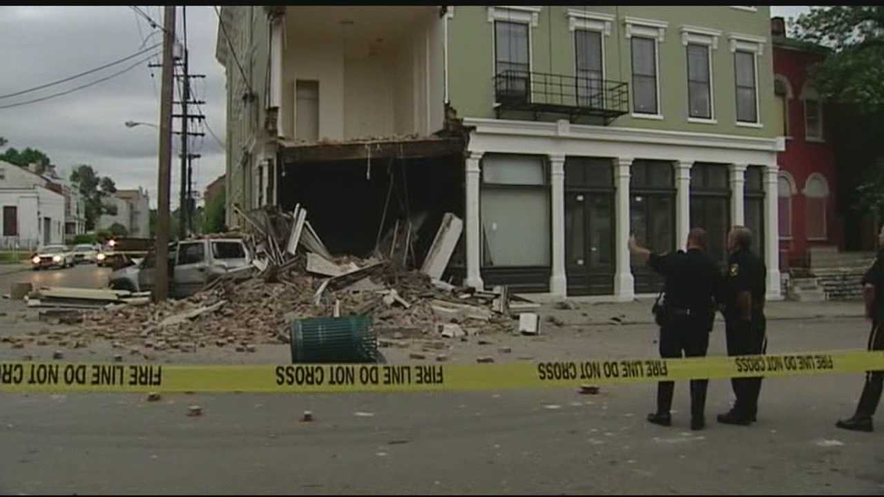 Police seeking driver who crashed into historic West End building