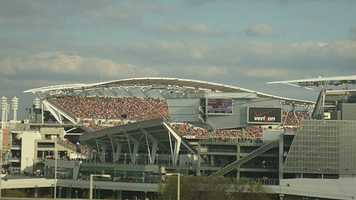 6. Watch the Cincinnati Bengals beat the Cleveland Browns at Paul Brown Stadium.