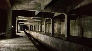 9. Take an underground tour of the old, abandoned Cincinnati Subway.