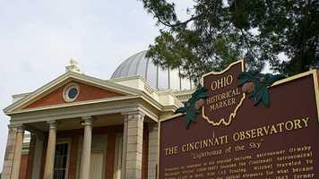 38. Star gaze at the Cincinnati Observatory in Hyde Park.