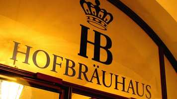 41. Drink authentic German beer at the first Hofbräuhaus outside Munich.