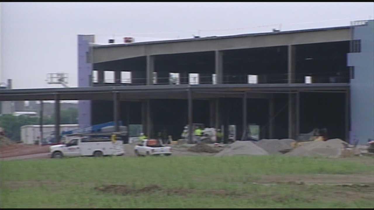 Racino construction ahead of schedule