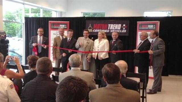 Tom Gill Chevrolet received the Motor Trend certification in Florence on Tuesday.