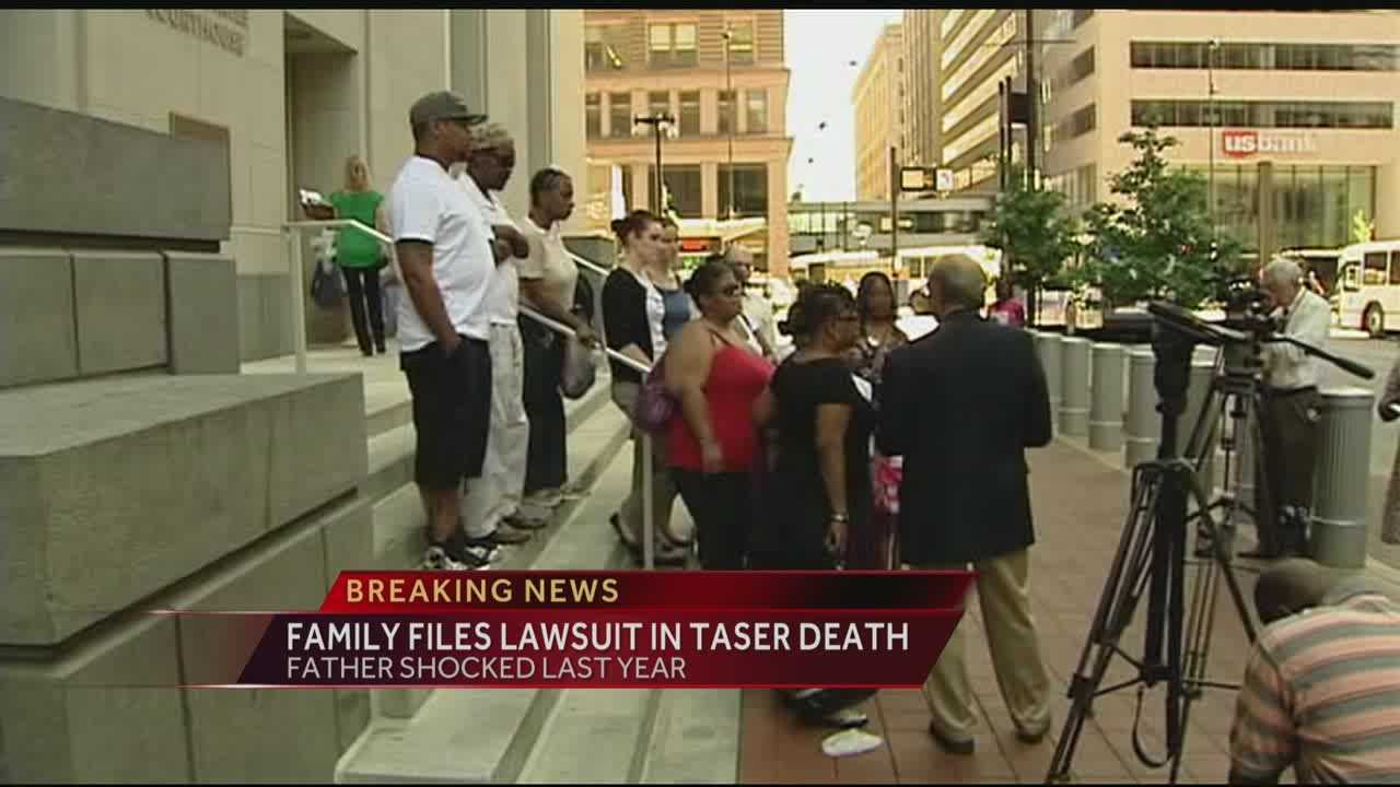 Family files federal lawsuit in Hamilton Co. Taser death