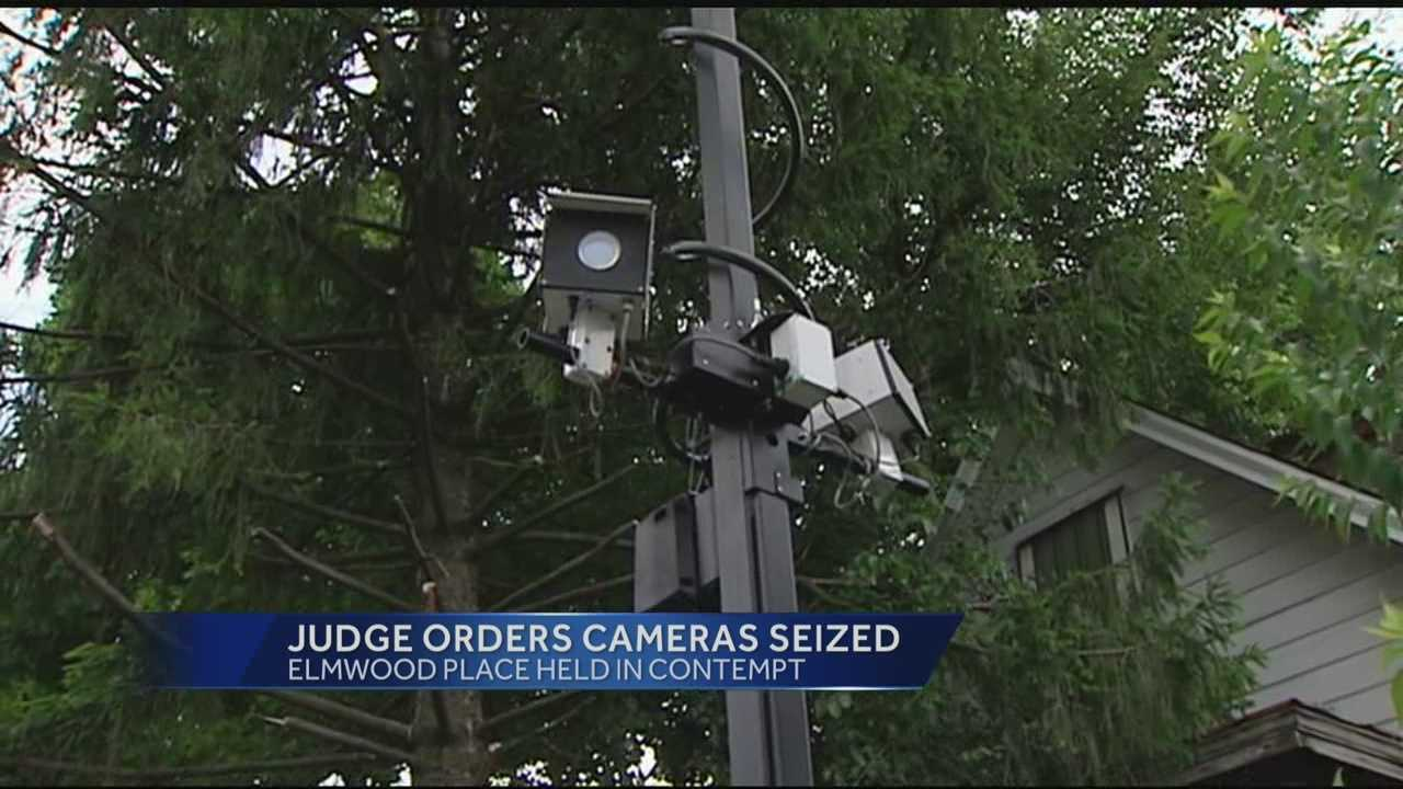 Judge orders Elmwood Place speed cameras confiscated