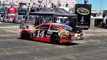 Tony Stewart car