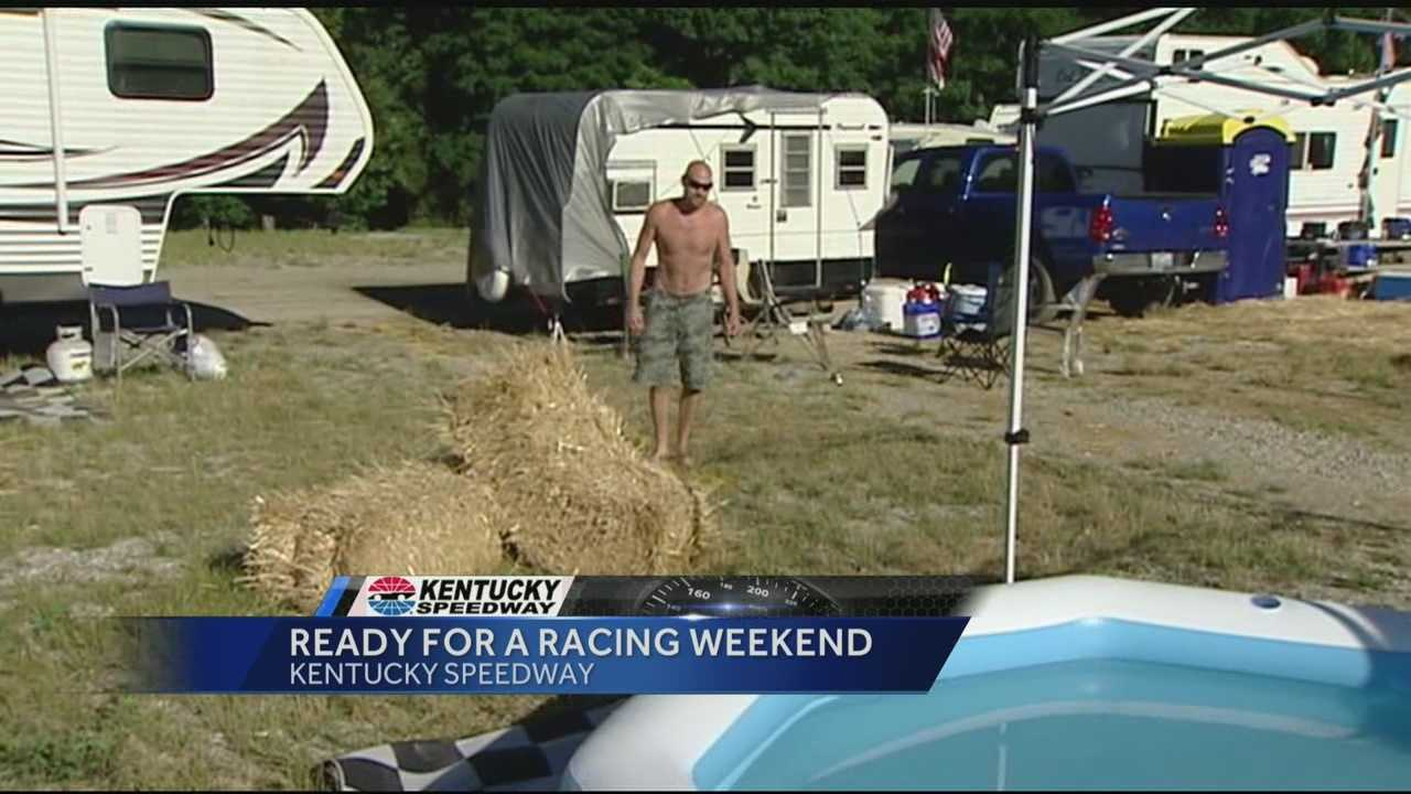 Campers embrace Race Weekend at Kentucky Speedway