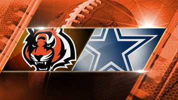 BENGALS LOSE 18-24. Preseason game 3: Bengals at Cowboys: The Bengals play the Dallas Cowboys on Saturday, Aug. 24 at 8 p.m. in Dallas.