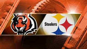 BENGALS LOSE 20-30. Week 15: Bengals at Steelers: The Bengals head to Pittsburgh to play the Steelers on Sunday, Dec. 15 at 8:30 p.m. on WLWT.
